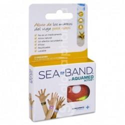 Aquamed Active SeaBand Infantil, 2 Unidades