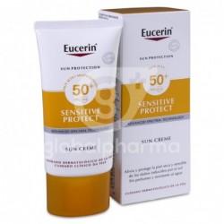 Eucerin Sun Creme Sensitive Protect FPS 50+, 50 ml