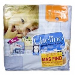 Chelino Fashion & Love Pañales Talla 5 (13-18 kg), 30 Unidades