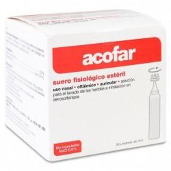 Acofar Suero Fisiológico Nasal Y Oftálmico Ester, 30 x 5 ml