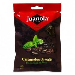 Juanola Caramelos de Café con Menta, 45 g