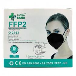Mascarilla FFP2 CE Negra 10 unidades LK-Z 1510